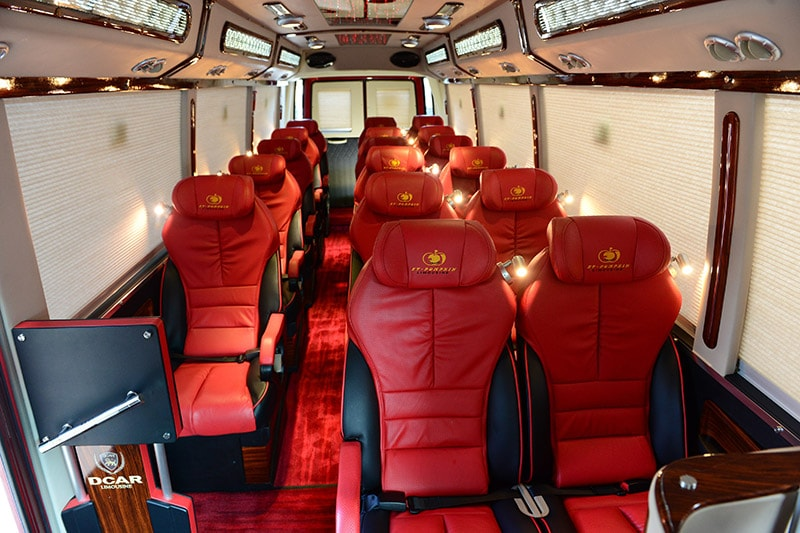 Luxury Bus to Sapa